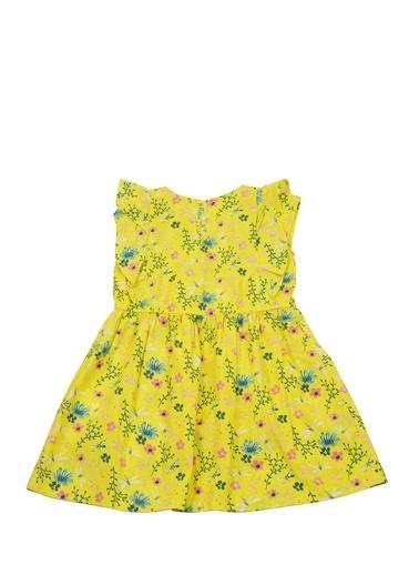Zeyland Sarı Çiçek Desenli Elbise (5-14yaş) Sarı Çiçek Desenli Elbise (5-14yaş) Sarı